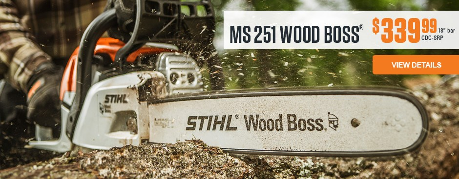 MS 251 WOOD BOSS®